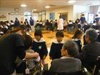 光の里訪問(年長組)・北中学校生来園・避難訓練